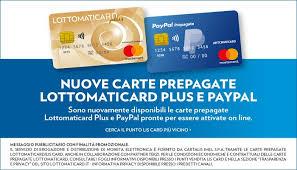 Perché utilizzare PayPal, Lottomaticard?