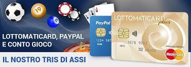 PayPal Lottomaticard i nostri commenti